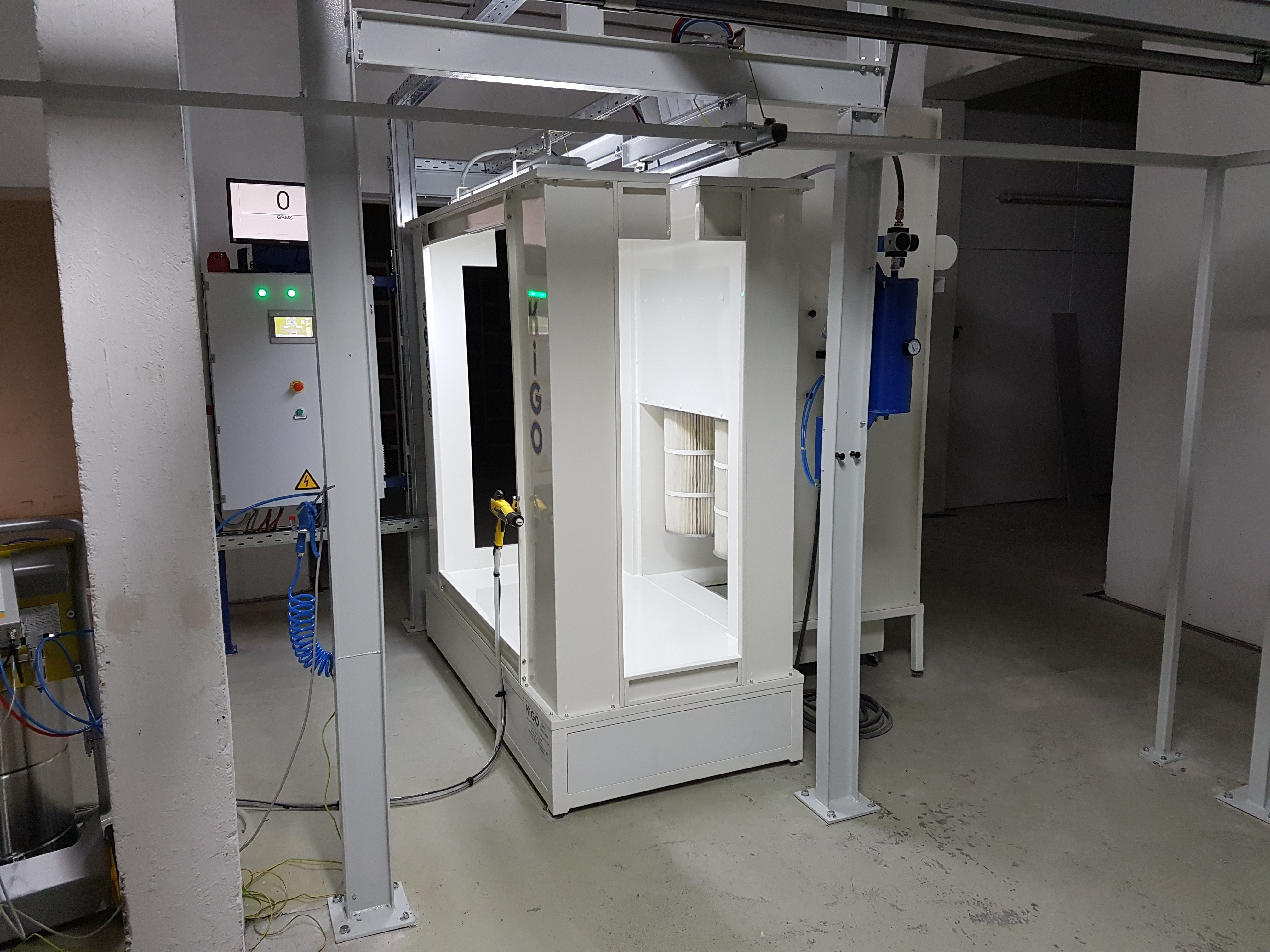 6 Starter powder booth