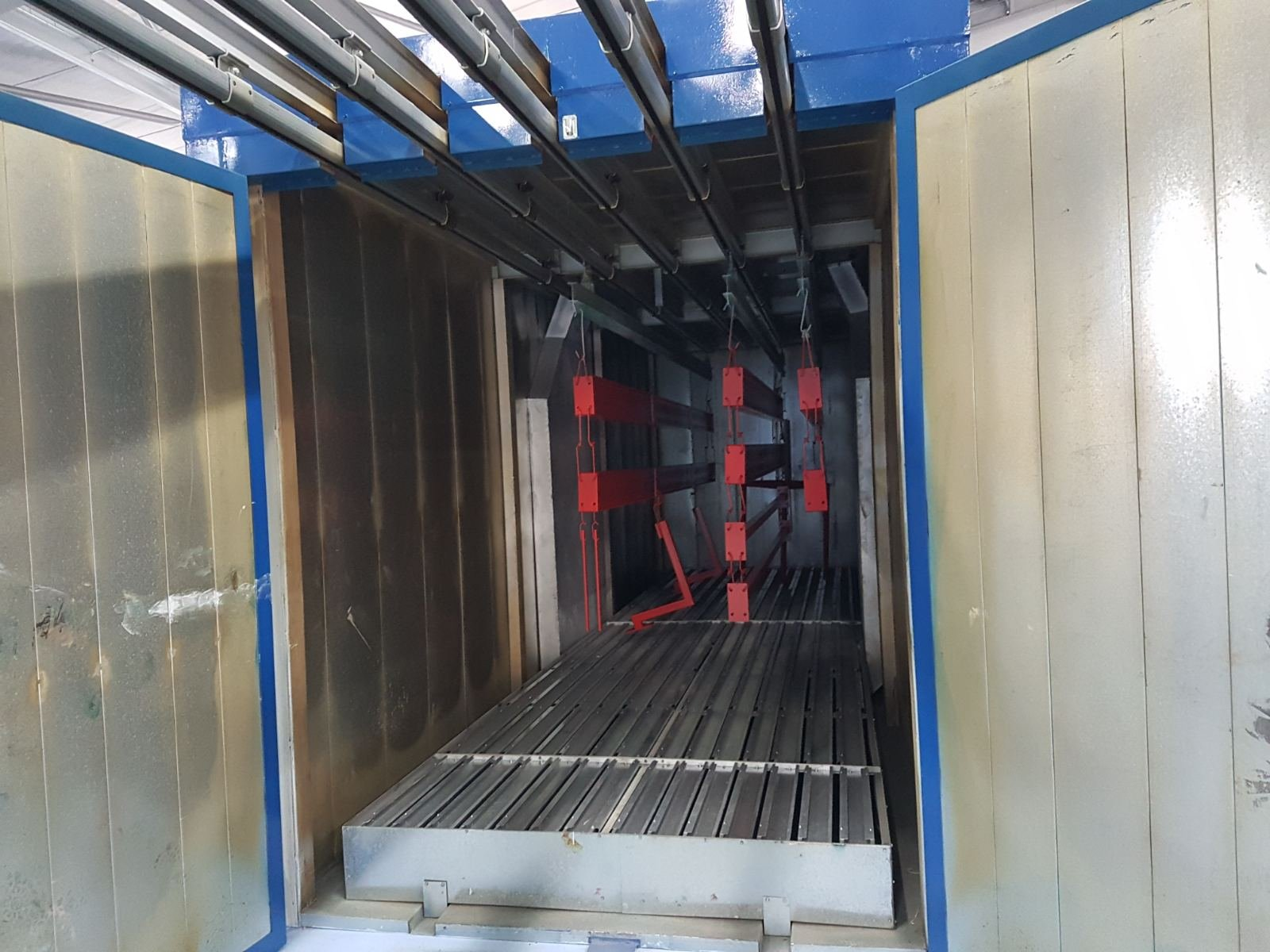 box curing oven